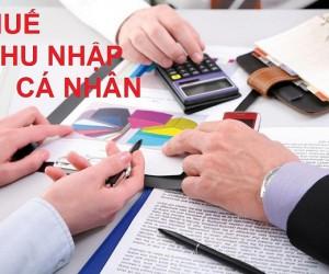 Tư vấn về thuế thu nhập cá nhân